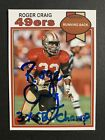 Roger Craig Cards, Rookie Card and Autographed Memorabilia Guide 7
