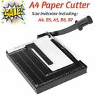 A4Paper Trimmer Paper Cutter Heavy Duty Metal Base 13 inch Cut Length12 Sheets