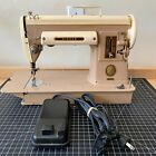 Vintage 1950s SINGER 301A SEWING MACHINE w Pedal