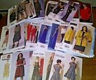 Vogue Sewing Patterns Rare Large Lot of 79 Multiple Designers New Uncut