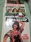 McCalls Simplicity Smaller Store Counter Sewing Pattern Catalogs Lot of 5