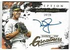 MARK McGWIRE 2021 TOPPS INCEPTION AUTO AUTOGRAPH DAWN OF GREATNESS CARD #14 20!