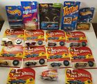 Hot Wheels Huge Lot of 16 1993 25th Anniversary Pit Crew and Tattoo Series Cars