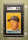1958 Topps Mickey Mantle #150 SGC 3.5