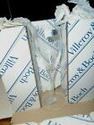 Lot of 12 NOS Villeroy  Boch Torino Flute Champagne Glasses 8 1 2 tall F357