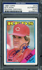Pete Rose Baseball Cards, Rookie Card and Autographed Memorabilia Guide 44