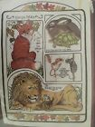 DIMENSIONS AESOPS FABLES Vtg 1979 Crewel Embroidery Kit Sealed Fox Lion Mouse