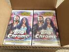 2021 WWE Topps Chrome (8) Sealed Hobby Boxes (1) Sealed & Unsearched Case