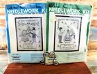 Bucilla Cross Stitch Kit OUR NEW BABY 1731 OUR WEDDING 1730 Samplers LINEN Lot 2