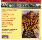 Captain Blood/ The Kings Theif / Scaramouche-Soundtrack CD