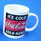 Gibson Coca Cola Coke Coffee Mug Cup Ice Cold Sold Here