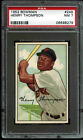 1952 Bowman #249 Henry Thompson *GIANTS* PSA 7 NM