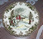 Set Lot of 5 Johnson Brothers Friendly Village Sugar Maples Plate