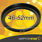 46mm to 52mm 46-52 mm Step-Up Lens Filter Ring Adapter for ND UV CPL Star Filter