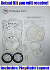 1991 Data East Batman Pinball Basic Rubber Ring Kit