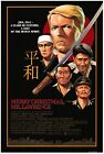 MERRY CHRISTMAS MR LAWRENCE MOVIE POSTER DAVID BOWIE