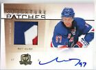 2009-10 UD The Cup Signature Patches Matt Gilroy 75
