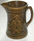 Vintage 1926 Nelson McCoy Pottery Beer Tankard Pitcher