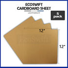 5 12x12 Chipboard Cardboard Craft Scrapbook Scrapbooking Sheets 12x12