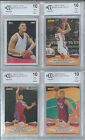 2009-10 2 CARD LOT TOPPS & PANINI BLAKE GRIFFIN ROOKIE BGS BCCG 10