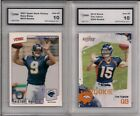 2 LOT 2010 SCORE TIM TEBOW & 2001 UD VICTORY DREW BREES ROOKIE CARD MINT 10 RC