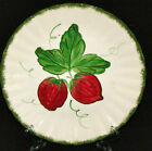 Blue Ridge Southern Pottery Strawberry Luncheon Plate RARE 9 3/8 Inches MINT!