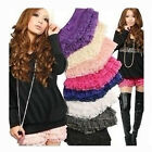 Women Nice Safety 8 Layers Lace Shorts Trousers Leggings Pants Fashion 7 Colors