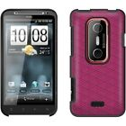 OEM Original HTC Hard Shell Snap On Case Cover for Sprint HTC EVO 3D  Raspberry