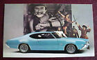 1969 OLDSMOBILE CUTLASS S HOLIDAY COUPE POSTCARD EXCELLENT UNUSED ORIGINAL