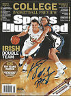 NOTRE DAME ND KYLE MCALARNEY SIGNED SPORTS ILLUSTRATED SI MAG MAGAZINE w COA
