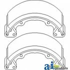 Brand New Kubota Brake Shoe Set of 2 66385-22390