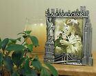 Pewter NY Skyline Photo Frame from New York City Online Gift Shop
