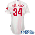 Philadelphia Phillies Roy Halladay MENS Cool Base Authentic Jersey by Majestic