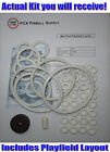 1969 Gottlieb Mini Pool Pinball Machine Rubber Ring Kit