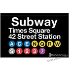 Times Square Subway Magnet Souvenir from NYC Online Gift Store