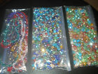 SWAROVSKI FACETED RONDELLE CRYSTAL BEADS MIXED SIZES  COLORS 468MMUSA SELLER