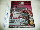 1998 ALABAMA VS BRIGHAM YOUNG PROGRAM