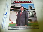 1988 ALABAMA VS VANDY PROGRAM