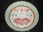 222 Fifth Twelve 12 Days of Christmas Salad Plate NEW - 2nd Day