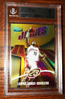 Lebron James Rookie 03-04 Topps Finest Gold Refractor BGS 9 Mint 25 Pop 3 Rare!