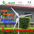 New 50W Wind Turbine Generator Kit DC12/24V  Express Delivery