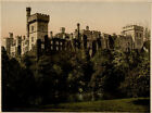 c.1890's PHOTOCHROME LISMORE  CASTLE CO WATERFORD IRELAND