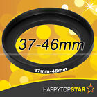 37mm to 46mm 37mm-46mm Step-Up Male to Female Coupling Lens Filter Ring Adaptor