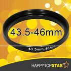 43.5mm to 46mm 43.5-46mm Male-Famale Coupling Step-Up Lens Filter Ring Adaptor