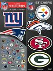 NFL Football Team Logo Sticker Chose Your Own Team NEW All 32 Available