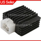 4 Pin Voltage Regulator Rectifier GY6 50cc to 150cc ATV Scooter Moped Go Kart