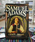 SAMUEL ADAMS Brewer Patriot Craft Brews Beer Tin Sign Metal Decor Bar Pub Tavern