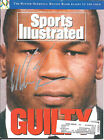 MIKE TYSON SIGNED SPORTS ILLUSTRATED MAGAZINE 2 17 92 GUILTY S.I. BOXING W COA