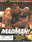 MIKE TYSON SIGNED SPORTS ILLUSTRATED MAGAZINE COVER 7 7 97 S.I. HOLYFIELD W COA