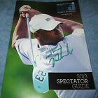 Michael Phelps Signed 2013 MJCI Golf Tournament Booklet with proof